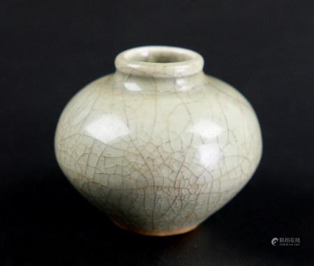 龍泉窯青瓷小罐