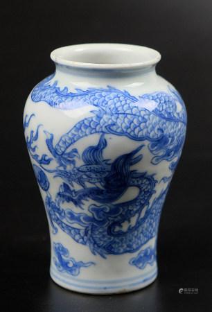 青花龍紋瓶