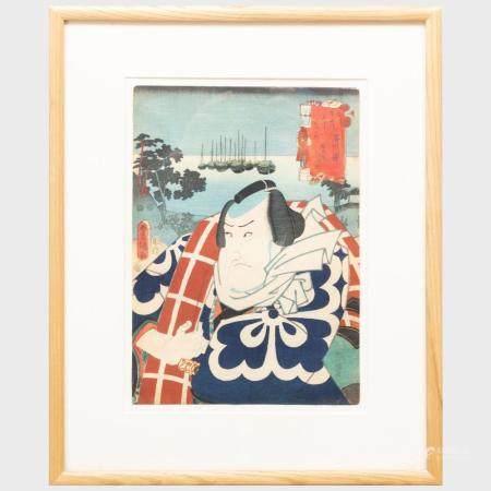 Utagawa Kunisada (1786-1864): The Actor Matsumoto K?shir? V