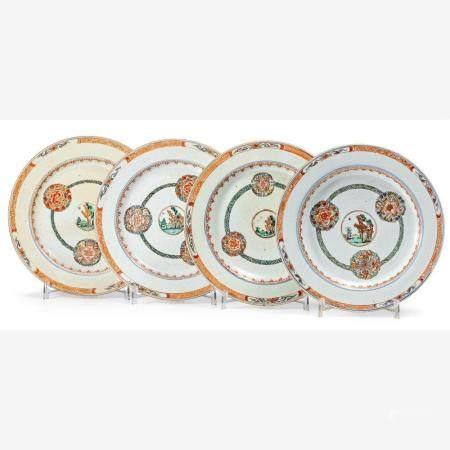 Vier Teller China, Qianlong