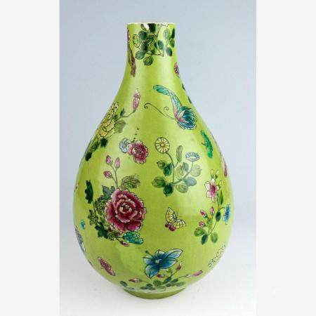 Bauchige Vase China, Jiaqing