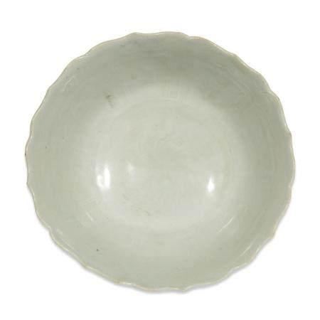 """A Chinese """"Shufu"""" porcelain bowl, Yuan dynasty"""