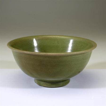 A Chinese Longquan celadon bowl, Ming dynasty