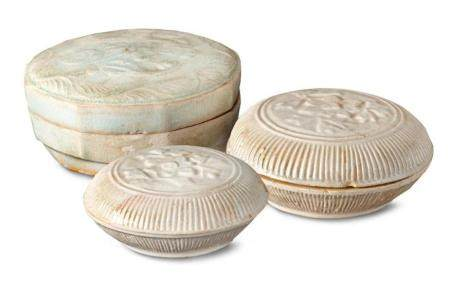 Three boxes and covers Song dynasty