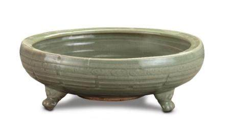 A Longquan celadon censer Ming dynasty