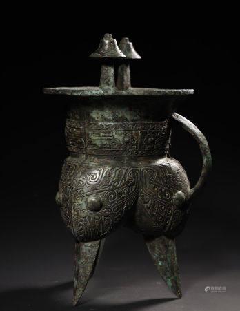 Bronze Wine Warmer