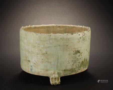 Han Dynasty, Tripod Incense Burner