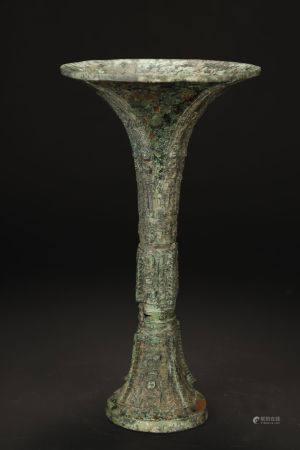 Ancient, Bronze Vase