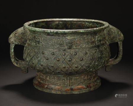 Ancient Bronze Vessel