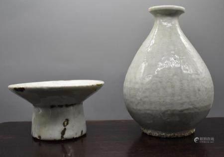 Korean Taza and Bottle