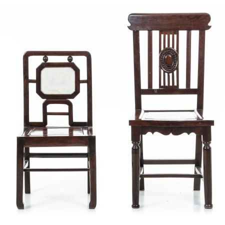 Two chinese chairs, Mignuo