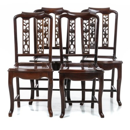 Four 'leaf' chairs, Minguo