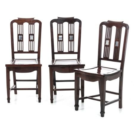 Three Chinese chairs