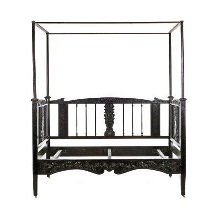 Wedding canopy chinese bed, Minguo