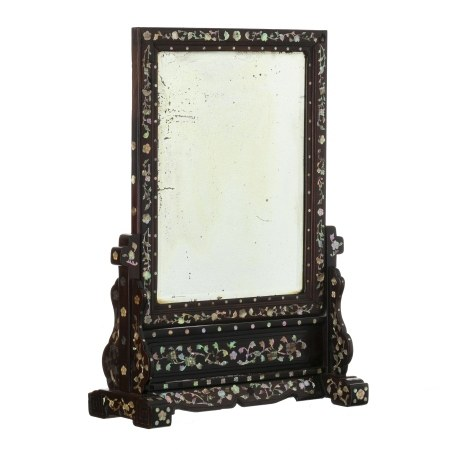 Chinese table mirror