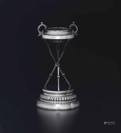 Trofeo remiero Coppa Villa d'Este. Anno 1925 Argento fuso, sbalzato e cesellato. [...]