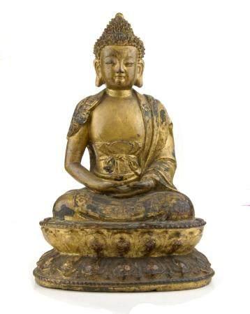 ART CHINOIS, DYNASTIE MING (1368-1644) Bouddha