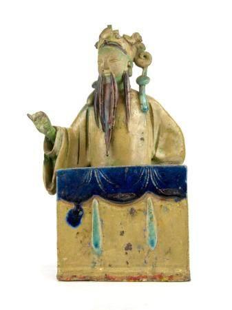 CHINE, 18-19ème SIECLE Statuette