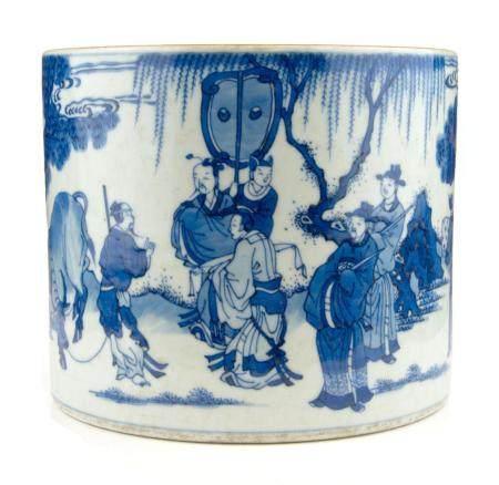 CHINE, DE STYLE KANGXI Grand porte-pinceaux