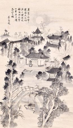 墨翁 寒山寺