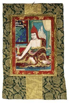 A PIECE OF BUDDHA TANGKA