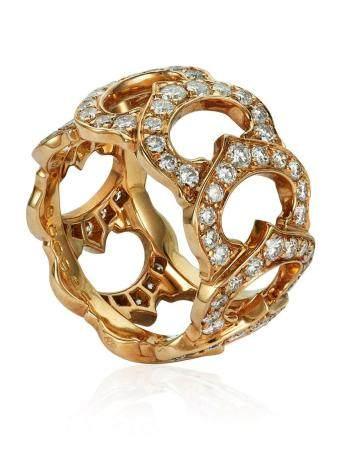 CARTIER 'C DE CARTIER' DIAMOND RING