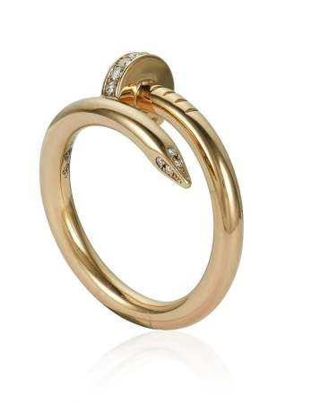CARTIER 'JUSTE UN CLOU' DIAMOND RING