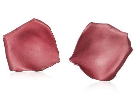 JAR ALUMINUM ROSE PETAL EARRINGS