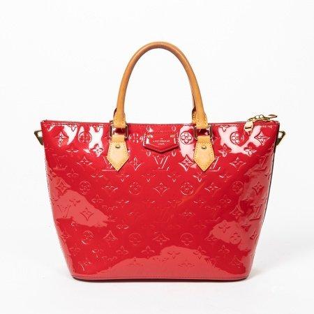 Louis Vuitton Red Monogram Vernis Montebello MM