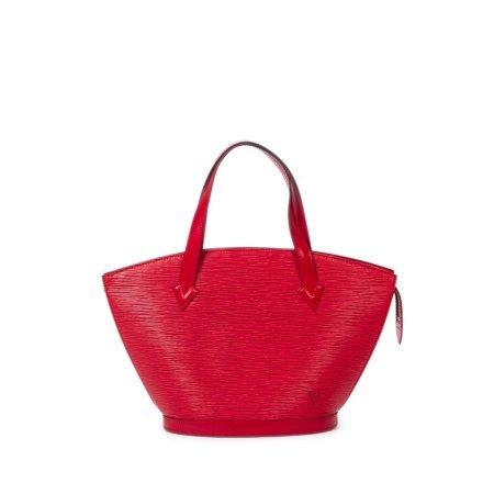 Louis Vuitton Red Epi Leather St Jacques PM