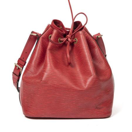 Louis Vuitton Red Epi Noe PM
