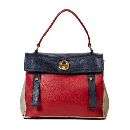 Yves Saint Laurent Tri-Colour Muse 2 Satchel Bag
