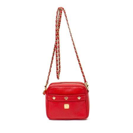 MCM Red Camera Bag