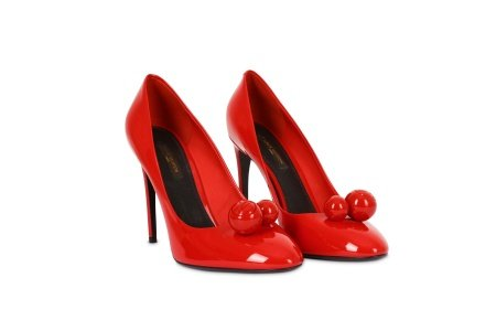 Louis Vuitton Red Patent Leather Betty Pumps - Size 39