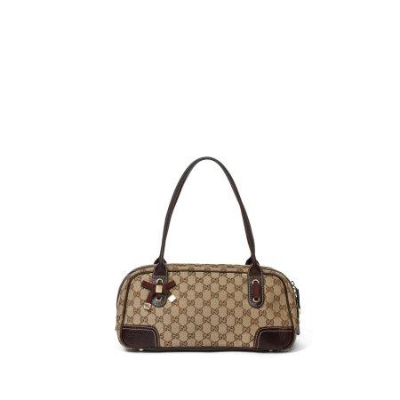Gucci Monogram Princy Boston Shoulder Bag
