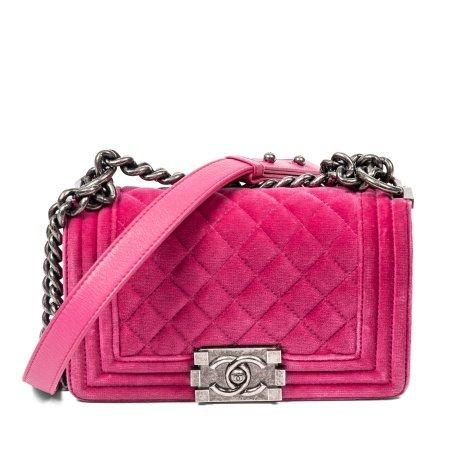 Chanel Pink Small Boy Bag