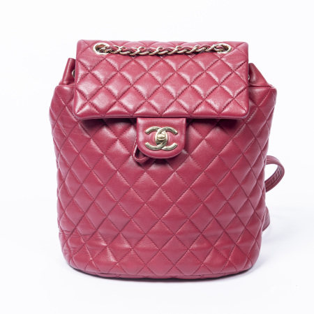 Chanel Pink Urban Spirit Small Backpack