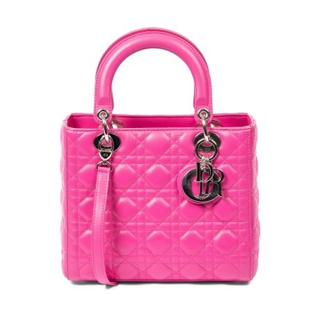 Christian Dior Bubblegum Pink Medium Lady Dior