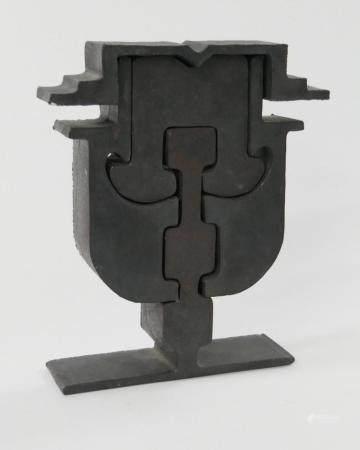MARC DI SUVERO (USA b1933) MOSAIC STEEL FACE