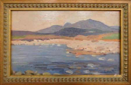 CHARLES VINCENT LAMB (IRELAND 1893-1964) LANDSCAPE