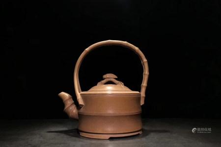 Chinese Qing Dynasty Zisha Teapot