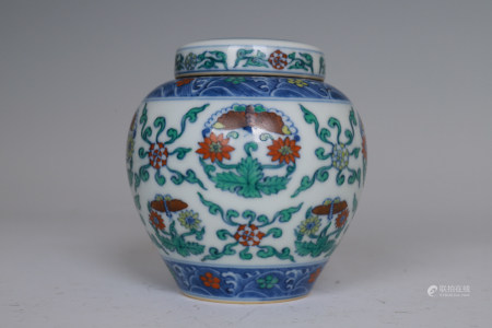 Chinese Ming Dynasty Chenghua Doucai Porcelain Vessel