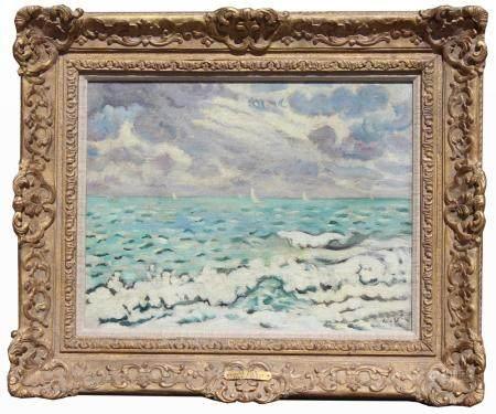 "Louis Valtat (France, 1869 - 1952) ""La Mer"""