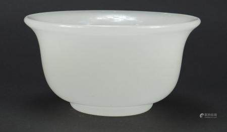 Chinese Peking glass bowl, 13.5cm in diameter :For Further Condition Reports Please Visit Our