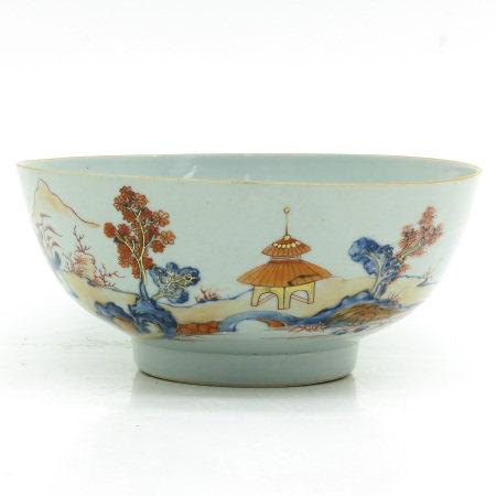 An Imari Decor Bowl