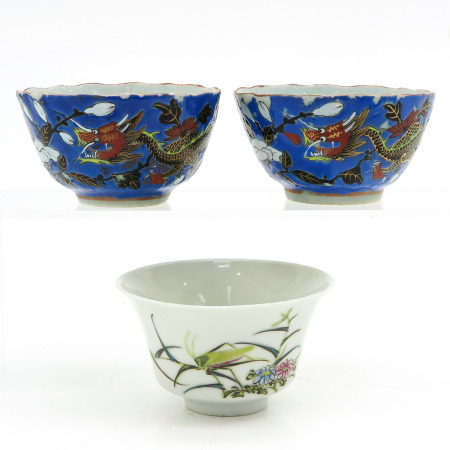 Collection of 3 Bowls