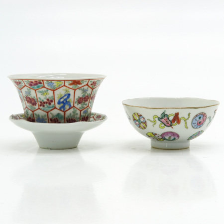 Two Cups and One Saucer