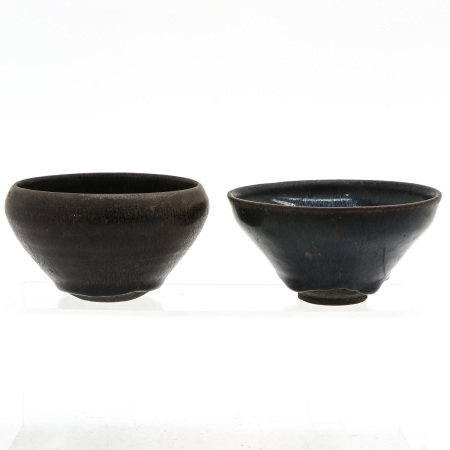 Two Chinese Tea Bowls