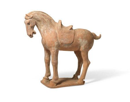 TANG DYNASTY (AD 618-907) 唐 陶马