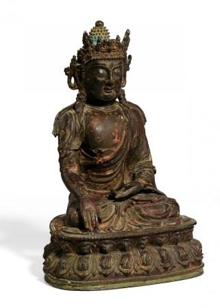 BUDDHA IN BHUMISPARSA MUDRA